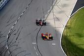 #28: Ryan Hunter-Reay, Andretti Autosport Honda, #21: Rinus VeeKay, Ed Carpenter Racing Chevrolet