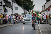 Rafael Reis (POR)<br /> <br /> 88th UCI Road World Championships 2021 – ITT (WC)<br /> Men's Elite Time trial from Knokke-Heist to Brugge (43.3km)<br /> <br /> ©Kramon