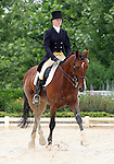 10 July 2009: Philippa Humphreys riding For The Top during the dressage phase of the CIC 2* Maui Jim Horse Trials at Lamplight Equestrian Center in Wayne, Illinois.
