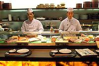 - ristorante Nobu all'interno dell'Armani Store in via Manzoni....- japanese sushi restaurant Nobu inside the Armani Store in Manzoni street..