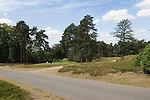 """St Georges Hill Golf Club Cobham near Weybridge Surrey Uk. Gold Course runs across Camp Hill Road where the Diggers in 1649 formed a settlement and who's agends was to the """"levelling of all estates"""" ie the abandonment of all property rights."""