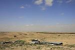 Israel, Bedouin settlement in the northern Negev