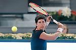 Carla Suarez Navarro during Madrid Open Tennis 2015 match.May, 5, 2015.(ALTERPHOTOS/Acero)