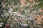Amador County by air--Sutter Creek downtown