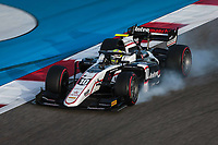 27th March 2021; Sakhir, Bahrain; F2 Grand Prix of Bahrain; 10 Pourchaire ThÈo (fra), ART Grand Prix, Dallara F2, action during the 1st round of the 2021 FIA Formula 2 Championship on the Bahrain International Circuit, in Sakhir, Bahrain -