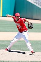 Sean Bonesteele, Fresno State Bulldogs.Photo by:  Bill Mitchell/Four Seam Images.
