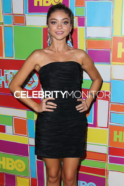 WEST HOLLYWOOD, CA, USA - AUGUST 25: Sarah Hyland at HBO's 66th Annual Primetime Emmy Awards After Party held at the Pacific Design Center on August 25, 2014 in West Hollywood, California, United States. (Photo by Xavier Collin/Celebrity Monitor)