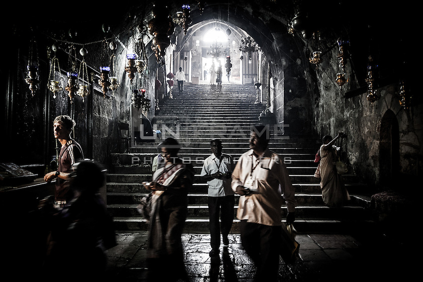 The church of the Sepulcher of the Virgin Mary in Jerusalem