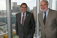 Montreal (Qc) Canada - August 2011 -Creation of the Chaire en oncologie ORL Dr Azar / Angelil