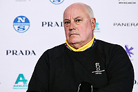 11th February 2021, Auckland, New Zealand;  Regatta Director Iain Murray. PRADA Cup Final Opening press conference at the PRADA media centre, America's Cup Race Village, Halsey Wharf, Auckland on Thursday 11th February 2021.