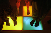 Sensory room at Acklam Road Playspace, which caters for children with and without disabilities.