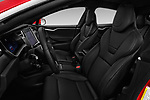 Front seat view of a 2017 Tesla Model S 100D 5 Door Hatchback front seat car photos