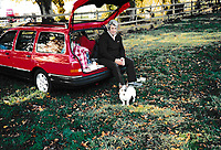 BNPS.co.uk (01202 558833)<br /> Pic: BNPS<br /> <br /> Pictured Flashback: Clive has had the car for 32 years<br /> <br /> Thrifty Clive Serrell is still driving his Ford Sierra 32 years after buying it.<br /> <br /> Clive paid £17,000 for the 1988 Sierra 4x4 estate that he has used as his daily runaround ever since.<br /> <br /> Remarkably, after three decades and 126,000 miles on the clock, the only major work the motor has ever required has been for a new clutch 20 years ago.<br /> <br /> Since then it has been used by Clive, 68, on countless family holidays and days out.