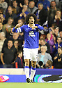 Marouane Fellaini of Everton celebrates scoring the winner<br />  - Everton v Stevenage - Capital One Cup Second Round - Goodison Park, Liverpool - 28th August, 2013<br />  © Kevin Coleman 2013