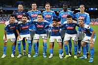 Napoli Team line-up <br /> Napoli 09-11-2019 Stadio San Paolo <br /> Football Serie A 2019/2020 <br /> SSC Napoli - Genoa CFC<br /> Photo Cesare Purini / Insidefoto