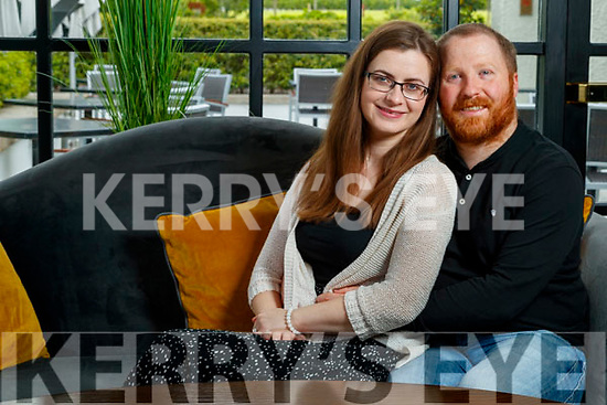 Brian Moyles and Mairead Landers who are getting married in Ballygarry house hotel in August.
