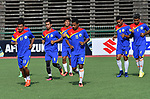 Training of the AFF Suzuki Cup 2016 on 20 October 2016. Photo by Stringer / Lagardere Sports