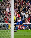 Yannick Ferreira Carrasco of Club Atletico de Madrid celebrates during their La Liga match between Club Atletico de Madrid and Malaga CF at the Estadio Vicente Calderón on 29 October 2016 in Madrid, Spain. Photo by Diego Gonzalez Souto / Power Sport Images