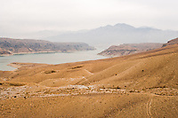 Sarobi dam, located on the Kabul river about 50km east of the capital, generates electricy for Kabul and its surroundings.