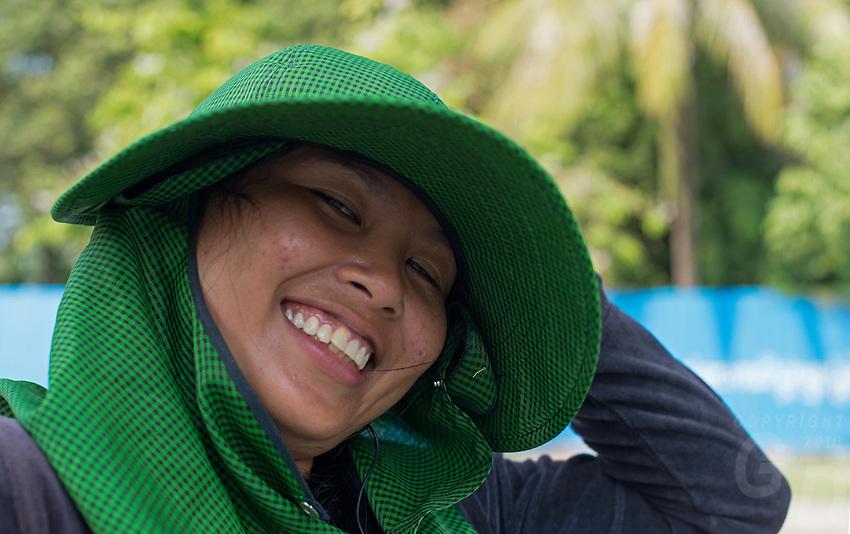 A very happy smile, Phnom Penh, Cambodia