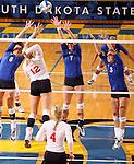 University of South Dakota at South Dakota State University Volleyball