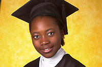 Montreal (QC) CANADA,2001 file Photo - young female student   graduate