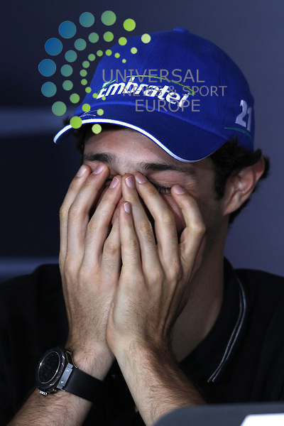 F1 GP of Australia, Melbourne 26. - 28. March 2010.Bruno Senna [BRA] Hispania Racing F1 Team ..Picture: Hasan Bratic/Universal News And Sport (Europe) 26 March 2010.