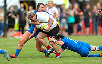 24 August 2019; Ilse Van Staden during the Women's Interprovincial Championship match between Ulster and Leinster at Armagh RFC in Armagh. Photo by John Dickson / DICKSONDIGITAL