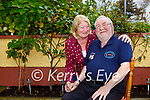 Former musician and chef Cyril Bogins Killarney and his wife Nellie celebrate his 70th birthday at home on Monday