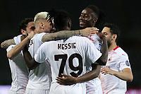 Torino 12-05 2021<br /> Stadio Olimpico Grande Torino<br /> Serie A  Tim 2020/21<br /> Torino - Milan<br /> Nella foto:     esultanza                                 <br /> Antonio Saia Kines Milano