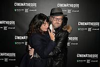 Sylvie PIALAT, Xavier BEAUVOIS - Avant-Premiere du film LES GARDIENNES de Xavier Beauvois - La Cinematheque francaise - 1 decembre 2017 - Paris - France # AVANT-PREMIERE 'LES GARDIENNES' A PARIS