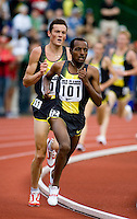 EUGENE, OR--Tariku Bekele races in the men's 2 mile at the Steve Prefontaine Classic, Hayward Field, Eugene, OR. SUNDAY, JUNE 10, 2007. PHOTO © 2007 DON FERIA