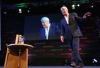 Sunday 25 May 2014, Hay on Wye, UK<br /> Pictured: Former BBC presenter Jeremy Paxman.<br /> Re: The Hay Festival, Hay on Wye, Powys, Wales UK.
