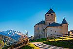 Italien, Suedtirol (Trentino - Alto Adige), St. Martin in Thurn: Museum Ladin im Schloss Thurn | Italy, South Tyrol (Trentino - Alto Adige), San Martino in Badia: Museum Ladin in Castle Thurn