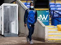 Bolton Wanderers' Liam Gordon arrives at the stadium <br /> <br /> Photographer Andrew Kearns/CameraSport<br /> <br /> The EFL Sky Bet League Two - Bolton Wanderers v Oldham Athletic - Saturday 17th October 2020 - University of Bolton Stadium - Bolton<br /> <br /> World Copyright © 2020 CameraSport. All rights reserved. 43 Linden Ave. Countesthorpe. Leicester. England. LE8 5PG - Tel: +44 (0) 116 277 4147 - admin@camerasport.com - www.camerasport.com