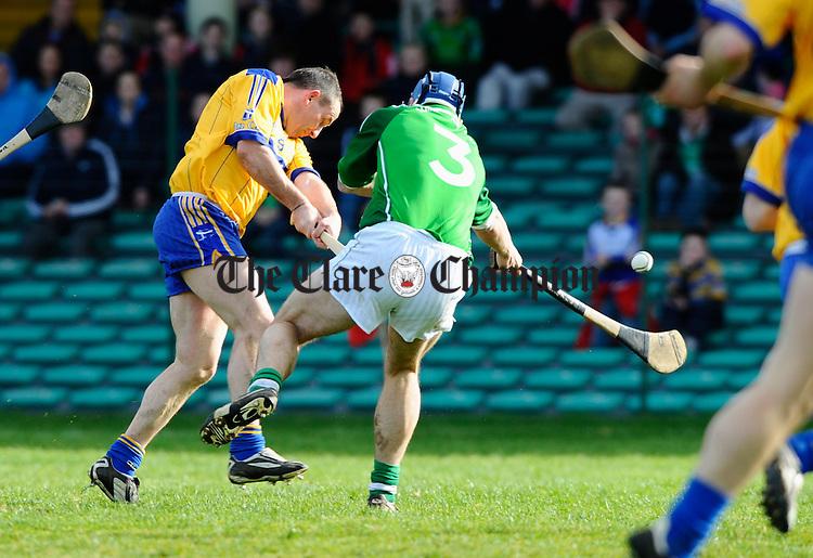 Colin Lynch has a shot at goal