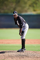 Chicago White Sox pitcher Josue Gerardo (59) during an Instructional League game against the San Francisco Giants on October 10, 2016 at the Camelback Ranch Complex in Glendale, Arizona.  (Mike Janes/Four Seam Images)