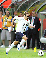 Bobby Convey of the USA races down the wing. The USA and Italy played to a 1-1 tie in their FIFA World Cup Group E match at Fritz-Walter-Stadion, Kaiserslautern, Germany, June 17, 2006.