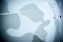 30/08/18 - RIOM - PUY DE DOME - FRANCE - Atelier de la carroserie d Emilie PLANTIN, jeune femme de 25 ans. Restauration d'un PEUGEOT D3 LEROUX ayant participé au Tour de France en tant que vehicule publicitaire - Photo Jerome CHABANNE