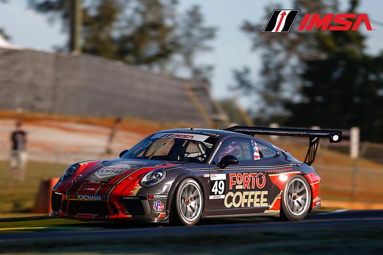 IMSA Porsche GT3 Cup Challenge USA<br /> Road Atlanta<br /> Road Atlanta, Braselton GA<br /> Thursday 5 October 2017<br /> 49, Sebastian Landy, GT3P, USA, 2017 Porsche 991<br /> World Copyright: Jake Galstad<br /> LAT Images