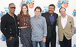 Jamie Foxx,Anne Hathaway,Carlos Saldanha,George Lopez and Sergio Mendes at The Twentieth Century Fox Voice Presentation of RIO held at The Zanuck Theatre on Twentieth Century Fox Lot in Los Angeles, California on January 28,2011                                                                               © 2010 DVS/Hollywood Press Agency