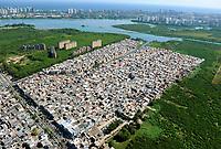 Rio de Janeiro (RJ), 30/04/2020 - Cotidiano-Rio - Imagem aerea da Comunidade de Rio das Pedras na Barra da Tijuca na zona oeste da cidade do Rio de Janeiro,nessa quinta-feira (30). (Foto: Alexandre Durao/Codigo 19/Codigo 19)