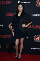 """HOLLYWOOD, LOS ANGELES, CA, USA - MARCH 20: Olga Segura at the Los Angeles Premiere Of Pantelion Films And Participant Media's """"Cesar Chavez"""" held at TCL Chinese Theatre on March 20, 2014 in Hollywood, Los Angeles, California, United States. (Photo by David Acosta/Celebrity Monitor)"""