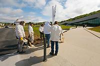 Manifstation (première ?) des apiculteurs contre les pesticides
