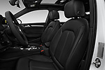 Front seat view of 2018 Audi A3 Sportback e tron Premium  5 Door Hatchback front seat car photos