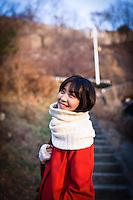 Actress Lee Eun-woo, Portrait, Seoul, 2010.