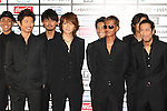 TOKYO - MAY 29: Exile band members arrive at the red carpet of the World Stage MTVJ 2010 show, May 29, 2010 at Yoyogi National Stadium in Tokyo, Japan.