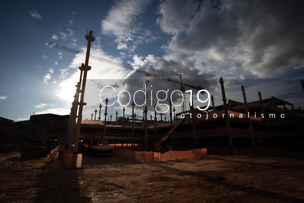 Belo Horizonte (MG) 31/08/21 - Obras de construção do estadio do Atlético-MG, Arena MRV prevista para inauguração em 2022,  no bairro California,  em Belo Horizonte nesta terça-feira (31)