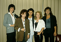 Montreal (Qc) CANADA - Novembre 1986 File photo  - Eye Eye<br /> backstage photo.<br /> <br /> -Photo (c)  Images Distribution