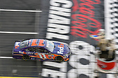 Monster Energy NASCAR Cup Series<br /> Coca-Cola 600<br /> Charlotte Motor Speedway, Concord, NC USA<br /> Sunday 28 May 2017<br /> Denny Hamlin, Joe Gibbs Racing, FedEx Office Toyota Camry<br /> World Copyright: Nigel Kinrade<br /> LAT Images<br /> ref: Digital Image 17CLT2nk07905